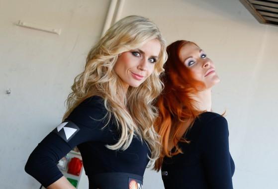 MotoGP Гран-При Валенсии 2013: Девушки паддока