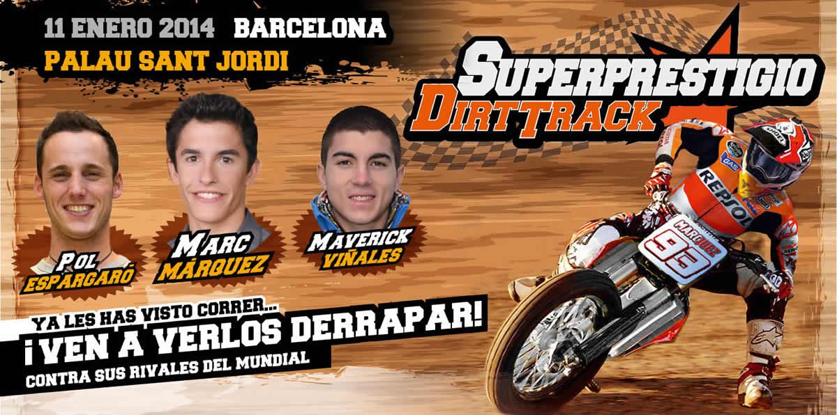 В гонке Superprestigio Dirt Track примут участие все три чемпиона Гран-При