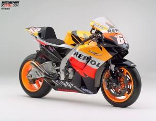 Honda RC211V. 2006 год. 240 л.с. 148 кг. Дани Педроса, Ники Хэйден
