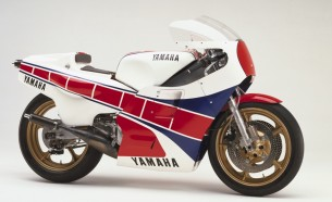 Yamaha YZR500 (0W70). 1983 год.