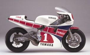 Yamaha YZR500 (0W76). 1984 год.