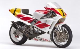 Yamaha YZR500 (0WC1). 1990 год.