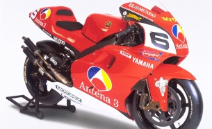 Yamaha YZR500 (0WL6). 2001 год.