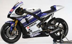 Yamaha YZR-M1. 2012 год.