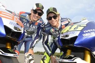 Росси и Лоренцо завтра представят Yamaha 2014 года