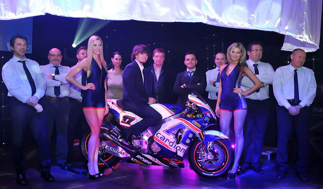 Презентация Cardion AB Motoracing MotoGP 2014