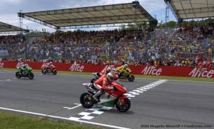 Ducati GP подготовили специальные ливреи для домашней гонки. Жибернау срывается с поул-позиции