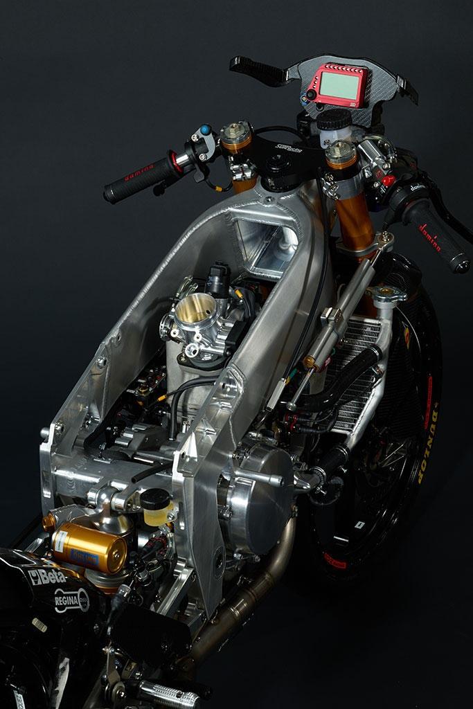 Мотоцикл чемпионата мира Moto3: Mahindra MGP30