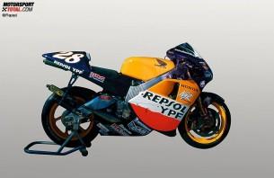 Honda NSR500. 2001 год. 185 л.с. 130 кг. Алекс Кривиль, Тору Укава