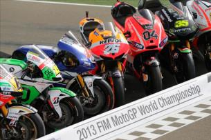 Мотоциклы MotoGP 2013