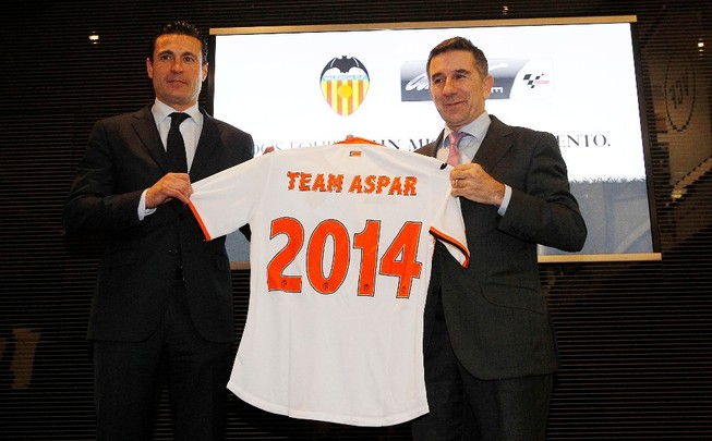 Aspar вступила в партнерство с известным футбольным клубом