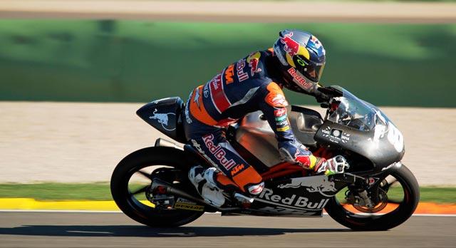 Джек Миллер официальные тесты Moto3 2014 в Валенсии