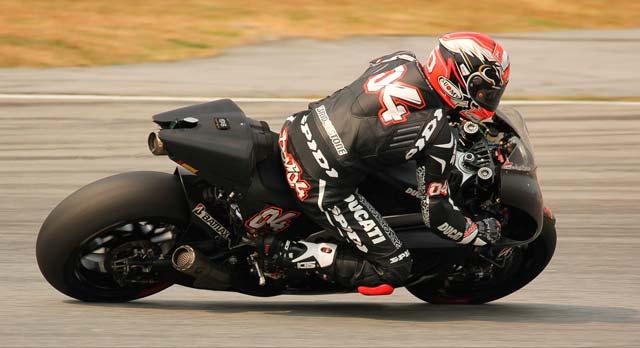 Андреа Довициозо Ducati 2014