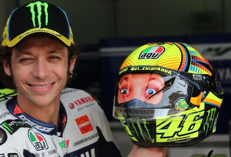 Новый шлем Валентино Росси