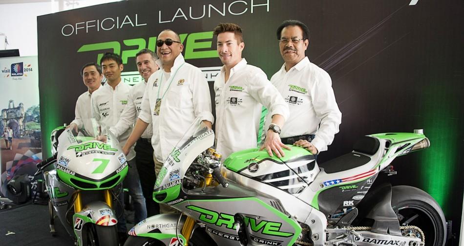 Drive M7 Aspar представила цвета своих мотоциклов Honda RCV1000R