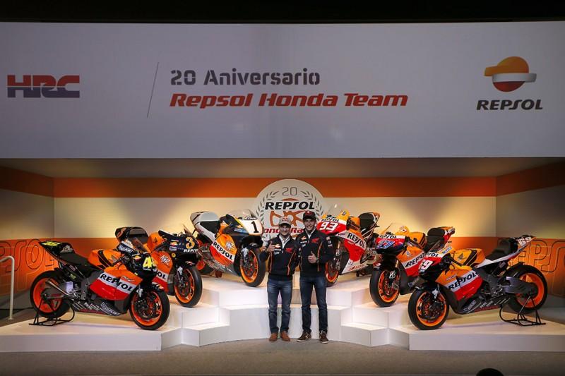 Honda и Repsol отпраздновали 20-ый юбилей совместного сотрудничества