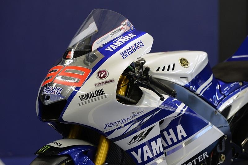 Fiat Professional - новый спонсор команды Yamaha Factory Racing