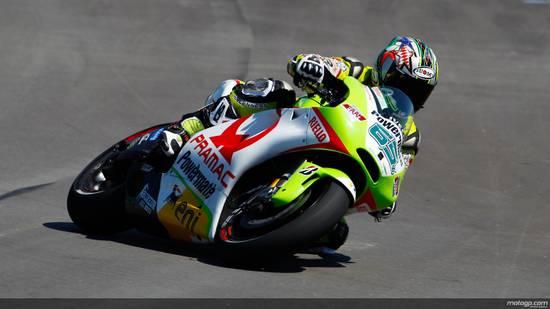 Капиросси наконец-то снова был за рулем Ducati...