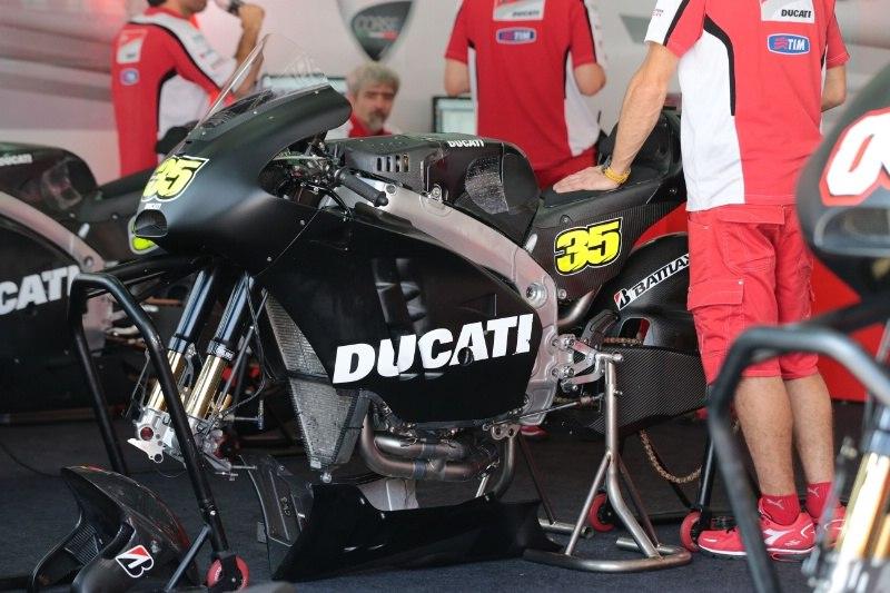 Ducati MotoGP тесты 2014