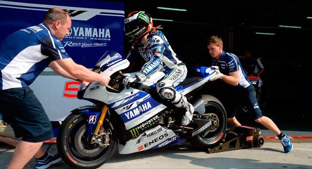Хорхе Лоренсо тесты MotoGP 2014