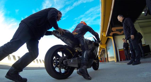 Результаты второго дня официальных тестов Moto2 2014 в Валенсии