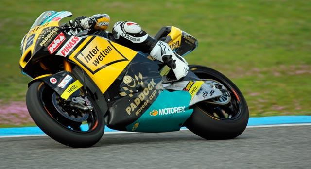 Томас Люти Moto2 2014