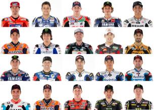 Пилоты MotoGP 2013