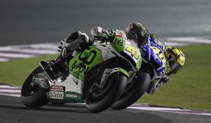Альваро Баутиста и Валентино Росси, MotoGP 2014