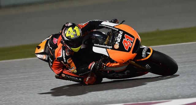 Алекс Эспаргаро, представитель открытого класса, выступающий за NGM Forward Racing