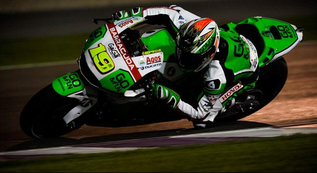 Альваро Баутиста, пилот MotoGP команды GO&FUN Honda Gresini