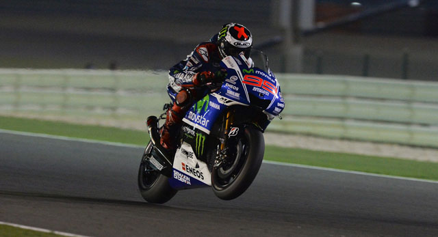 Хорхе Лоренцо, пилот Movistar Yamaha MotoGP 2014