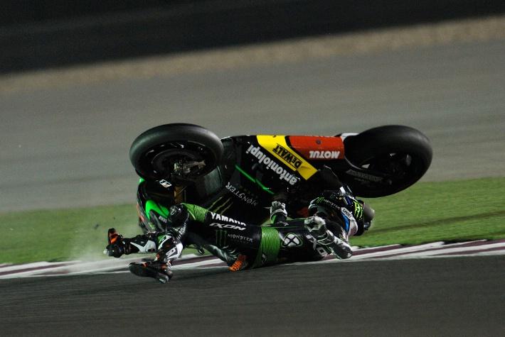 Падение Брэдли Смита, MotoGP 2014