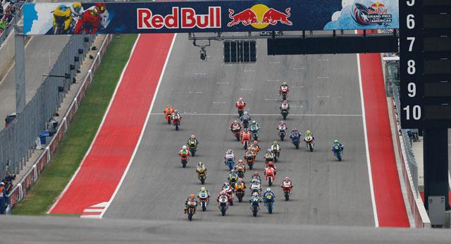 Гонка Moto2 Гран-При Америк 2014 (RUS, HD)