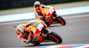 Дани Педроса и Марк Маркес MotoGP 2014