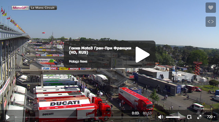 Гонка Moto3 Гран-При Франции 2014 (RUS, HD)