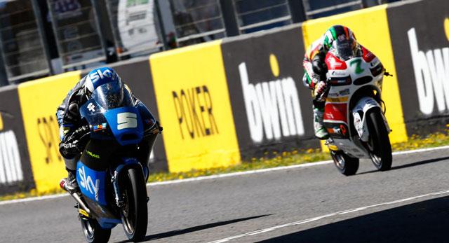Романо Фенати и Эфрен Васкес, Moto3 2014