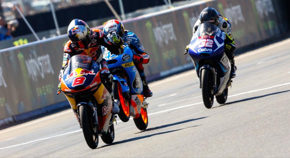 Финиш Moto3 Гран-При Франции 2014
