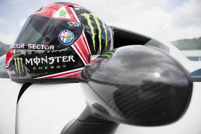 Хорхе Лоренсо представил свой новый шлем Quadrifoglio Verde