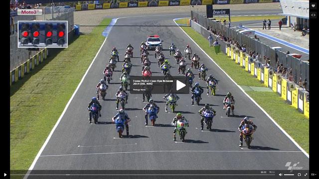 Гонка Moto3 Гран-При Испании 2014