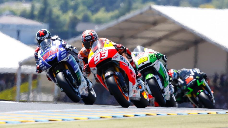 MotoGP Гран-При Франции 2014: Лучшие моменты