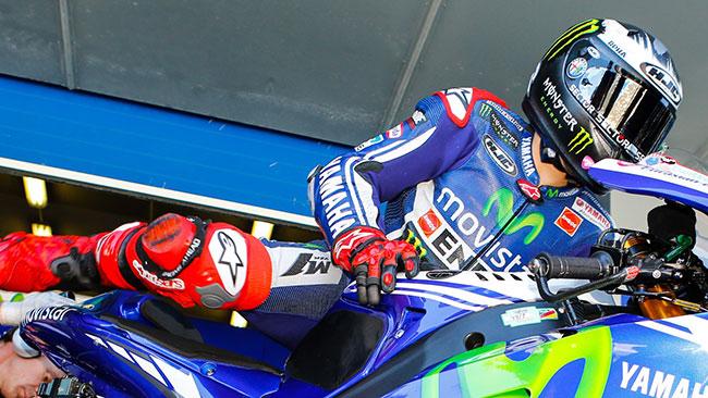 Хорхе Лоренсо, пилот Mpvistar Yamaha MotoGP