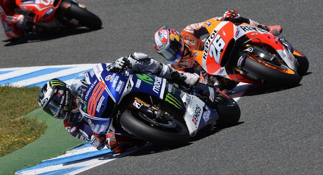 Хорхе Лоренцо и Дани Педроса, MotoGP 2014