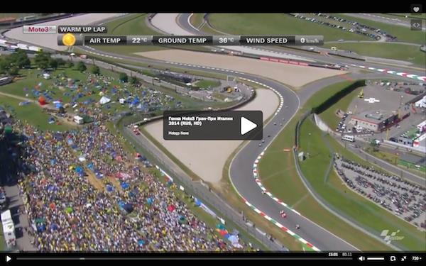 Гонка Moto3 Гран-При Италии 2014 (RUS, HD)