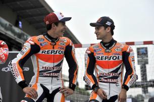 Марк Маркес и Дани Педроса, Repsol Honda Team, MotoGP 2014