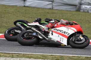 Пол Эспаргаро и Андреа Довициозо, MotoGP 2014