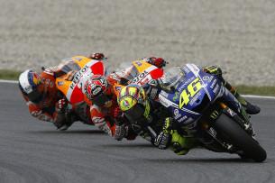 Росси, Маркес, Педроса, MotoGP 2014
