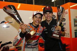 Марк Маркес и Алекс Маркес, MotoGP 2014