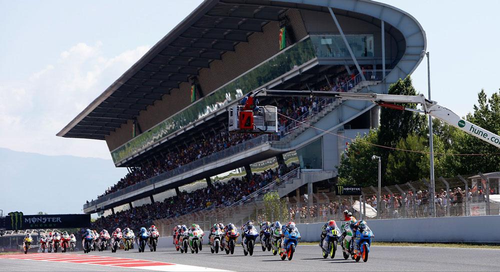 Гонка Moto3 Гран-При Каталонии 2014