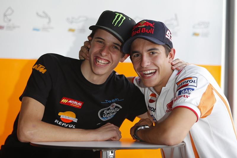 Марк и Алекс Маркесы