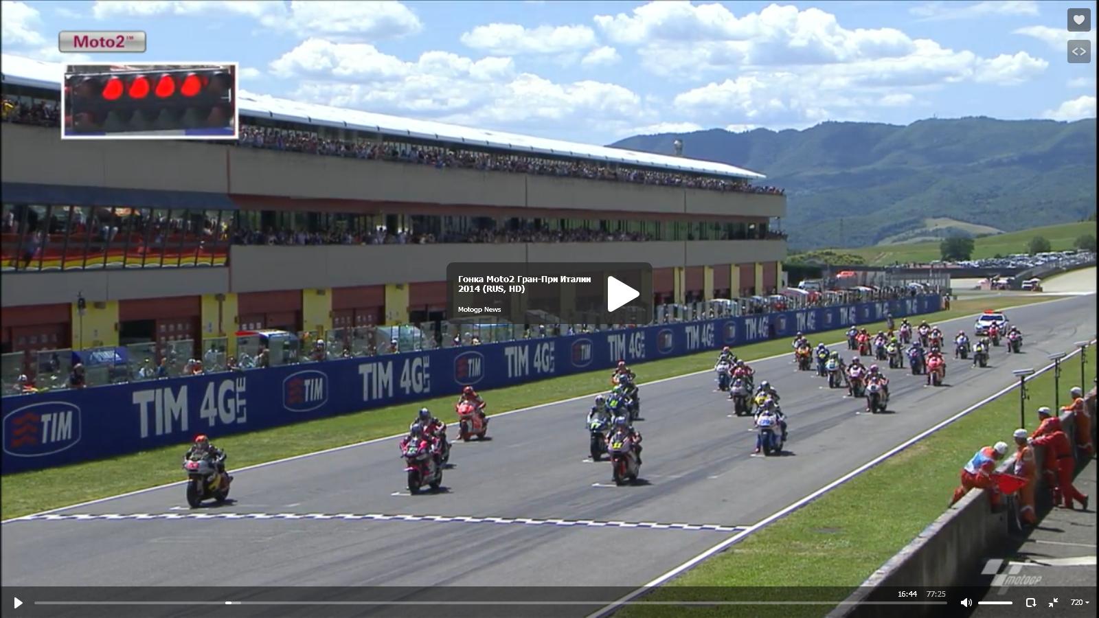 Гонка Moto2 Гран-При Италии 2014